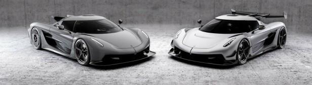 ABSOLUT: Toppfartsbilen er kraftig glattet ut for å få rekordlav luftmotstand. Foto: Koenigsegg.