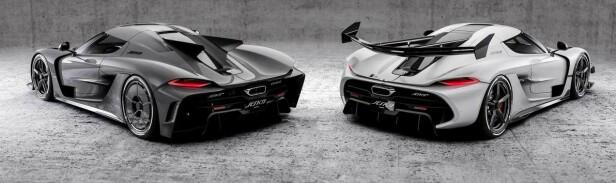 TO VERSJONER: Kundene kan velge mellom verdens raskeste bil eller den mer baneorienterte versjoen