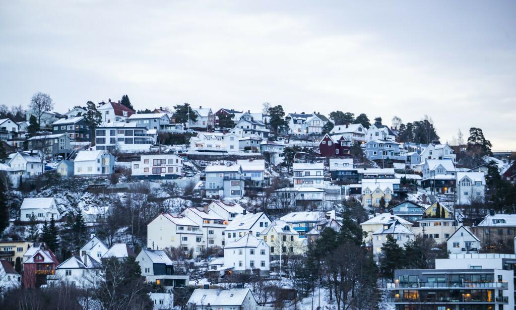 GOD MÅNED: Veksten i antall omsetninger fortsetter i februar, og det er ny omsetningsrekord til denne måneden å være, viser ferske tall fra Eiendom Norge. Foto: Håkon Mosvold Larsen/NTB Scanpix.