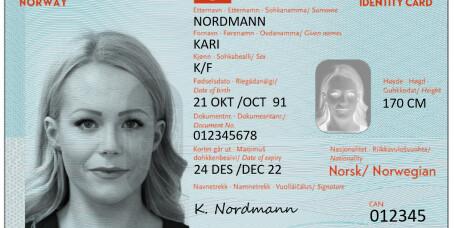 ID-kortene kommer til høsten
