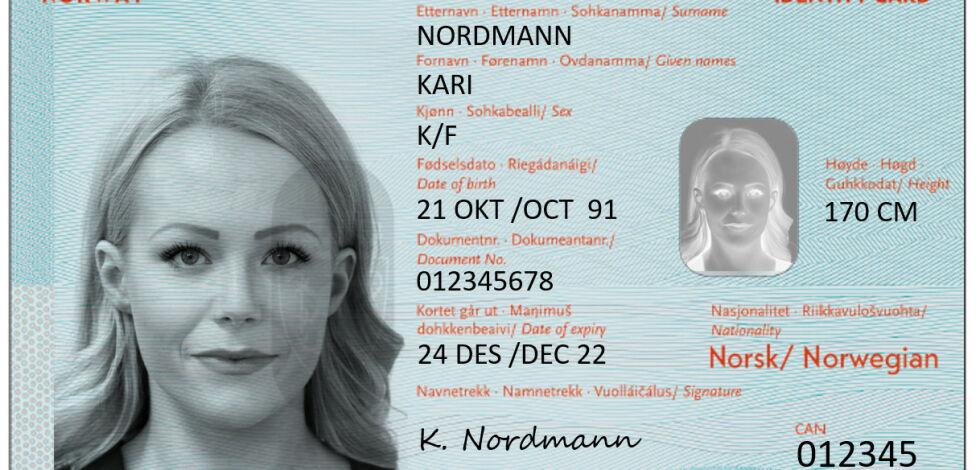 image: ID-kortene kommer til høsten