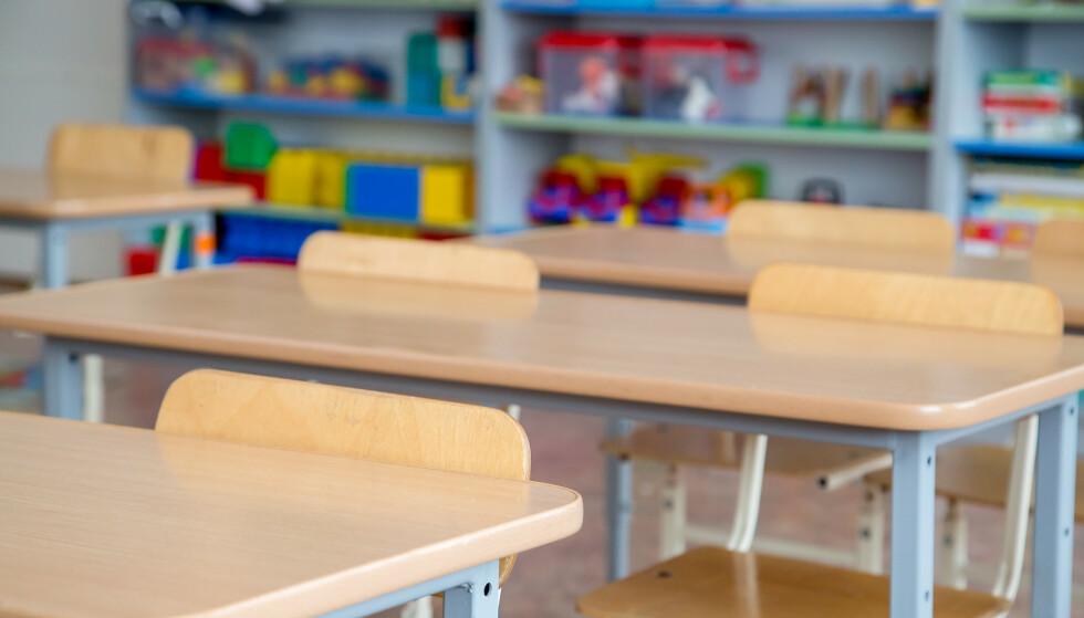 SKOLESTENGING: Kan du få lønn fra jobben dersom skolen holder stengt og du må være hjemme med barna? Foto: NTB Scanpix