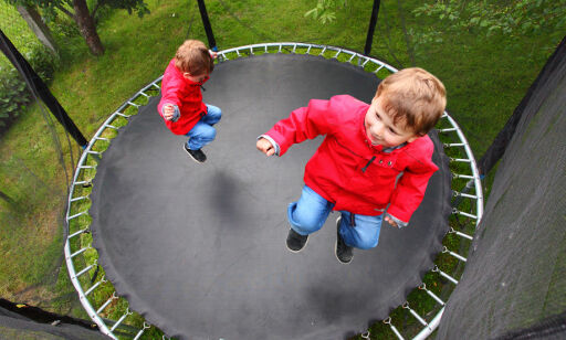 image: Hva med barnestøy fra trampoline?