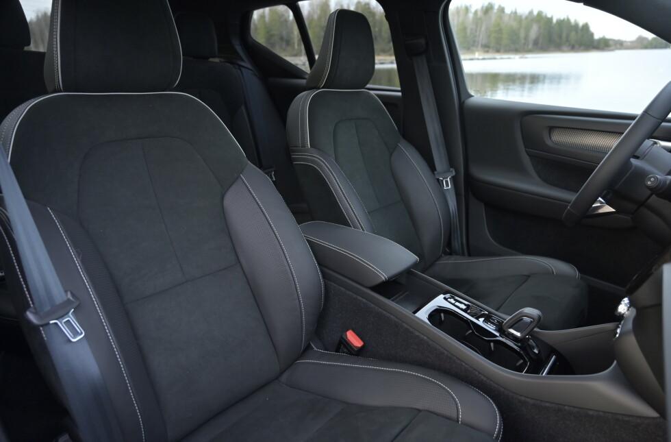 GODE: Kanskje Volvos beste seter. Foto: Rune M. Nesheim
