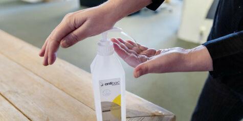 image: Sprit til håndvask kan misforstås