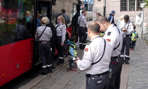 image: Reisende kan risikere gebyrsmell