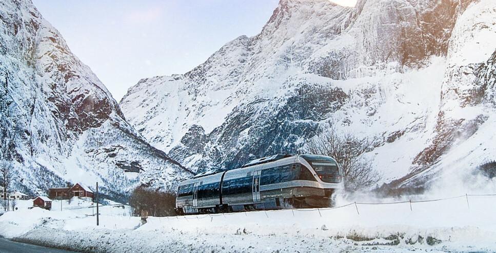 SJ-TOG: SJ starter trafikk på sju strekninger i Midt- og Nord-Norge 8. juni. Nå starter billettsalget. Foto: Leif Johnny Olestad/VJ Norge