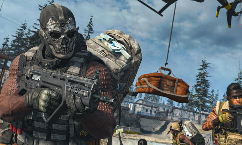 WARZONE: Et nytt «Battle Royale»-spill lanseres i kveld fra utviklerne av Call of Duty. Foto: Activision