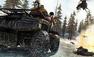 Noen av kjøretøyene du kan utforske i Warzone: Foto: Activision