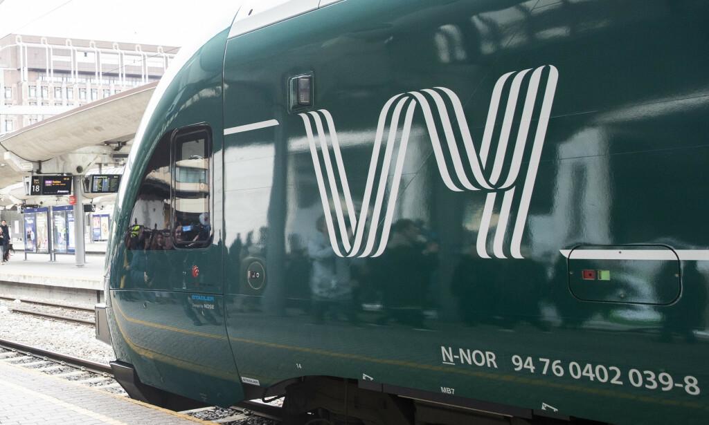 CORONA-NEDGANG: Færre tar toget etter FHIs nye anbefalinger. Foto: Berit Roald / NTB scanpix