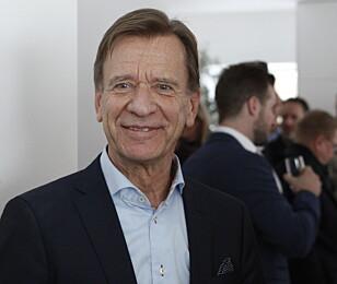 TILFREDSSTILLER KUNDENE: Konserndirektør Håkan Samuelson i Volvo vil fortsette å satse på SUV-er, så lenge det ikke kommer restriksjoner mot det. Foto: Øystein Bergrud Fossum