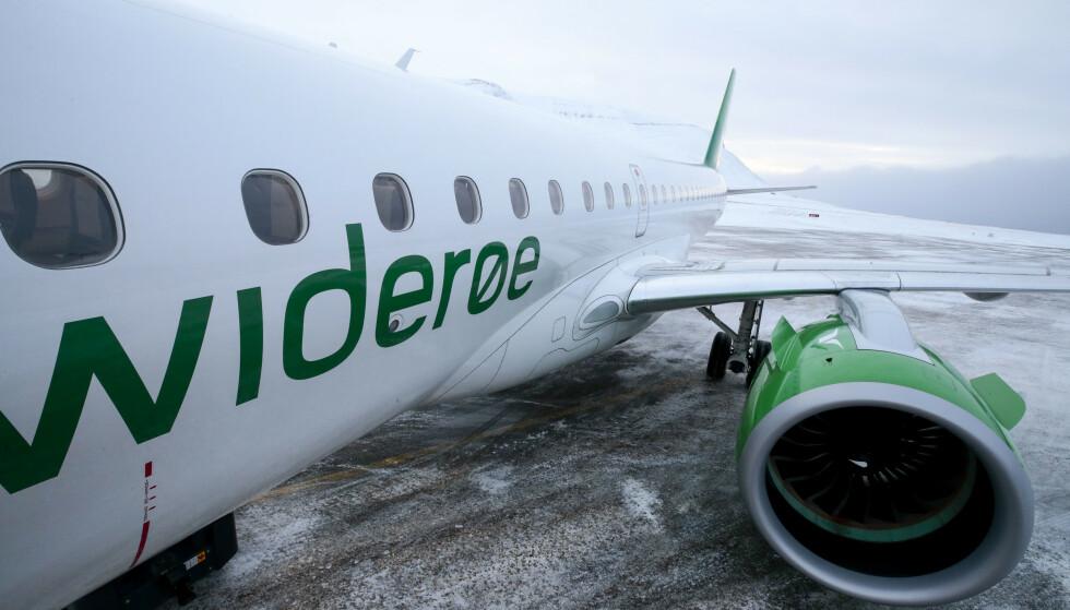 NI FLYPLASSER: Avinor stenger ni flyplasser fra onsdag 18. mars. Hva om du har billetter til en av disse? Foto: NTB Scanpix