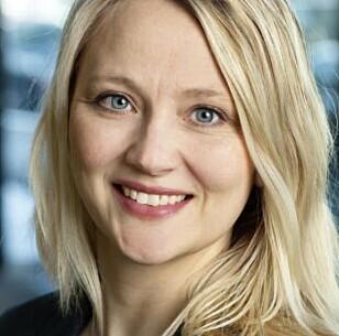 <strong>IKKE BEKYMRET:</strong> Kommunikasjonssjef for Volkswagen, Anita Svanes, i Møller Mobility Group. Foto: Møller Bil