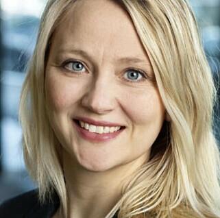 IKKE BEKYMRET: Kommunikasjonssjef for Volkswagen, Anita Svanes, i Møller Mobility Group. Foto: Møller Bil
