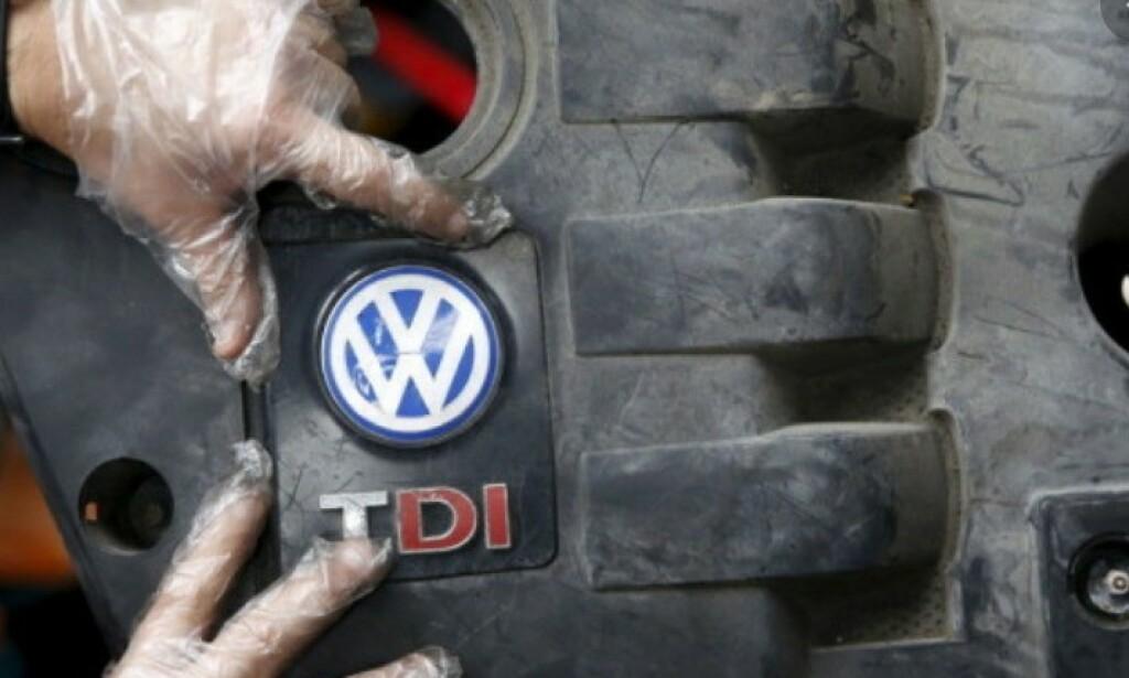 RETTFERDIG ERSTATNING: VW i Tyskland betegner erstatningen som tyske eiere av berørte dieselbiler får, er «rettferdig» og vil betale ut penger så raskt som mulig. Foto: NTB/Scanpix