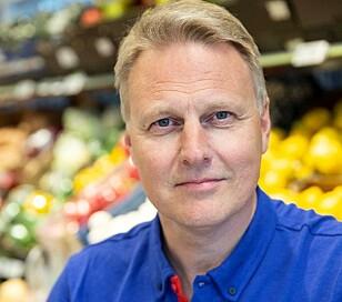 VIL IKKE BEGRENSE: Trond Bentestuen i Rema 1000 ønsker ikke å forsterke eventuelle hamstringstendenser. Foto: Rema 1000