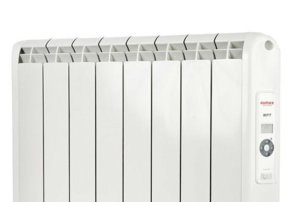 <strong>BRANNFARLIG:</strong> Netthandelen tilbakekaller denne panelovnen på grunn av brannfare. «Ikke bruk dette produktet» står det i tilbakekallingen. Foto: Farligeprodukter.no
