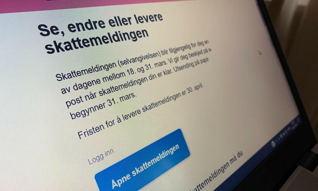 NÅ KOMMER SKATTEMELDINGEN? De første kan sjekke den allerede 18. mars. Foto: Berit B. Njarga