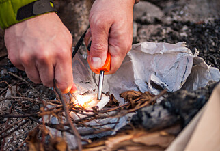 Brannvesenet advarer mot å tenne bål