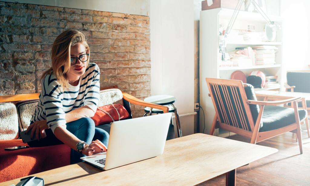 TAKK INTERNETT: De forskjellige underholdningstilbudene på nett opplever svært gode tider. Her er våre favoritter. Foto: Shutterstock