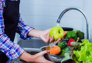 Derfor bør du vaske ALL frukt og grønt