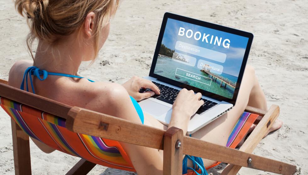 FULL REFUSJON: Airbnb gir full refusjon til alle som har bestilt overnatting eller opplevelser via deres plattform i tiden frem til 14. april. Ferieboligutleieren Novasol gir kun mulighet for ombooking. Foto: Shutterstock/NTB scanpix