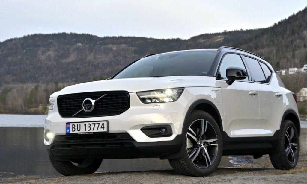 FULL STOPP: Volvo stopper all produksjon i Sverige. På bildet ser du modellen XC40. Foto. Rune M. Nesheim