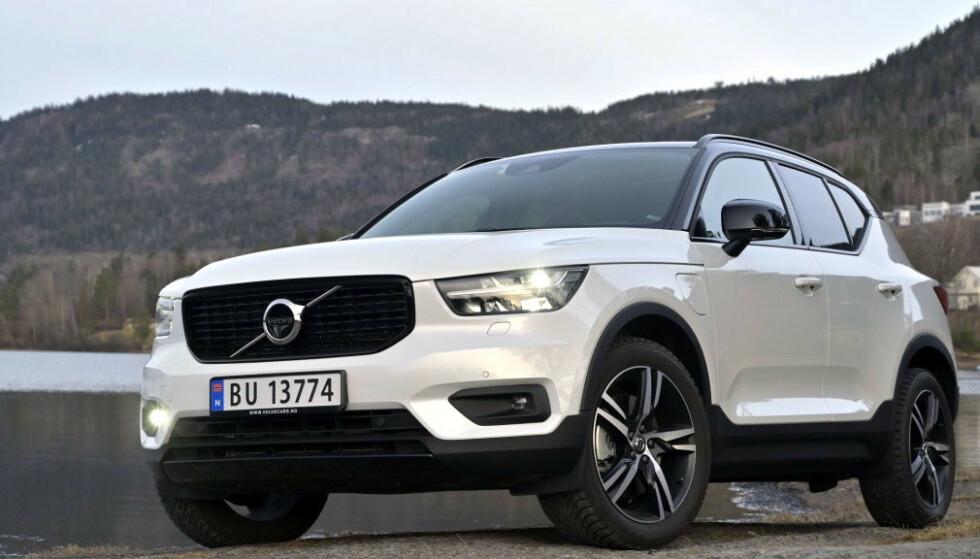 <strong>FULL STOPP:</strong> Volvo stopper all produksjon i Sverige. På bildet ser du modellen XC40. Foto. Rune M. Nesheim