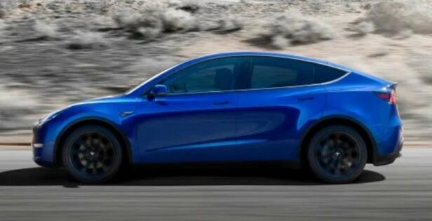 KOMMER NESTE ÅR: Har du allerede bestilt Model Y, er det dagens priser som gjelder. Foto: Tesla