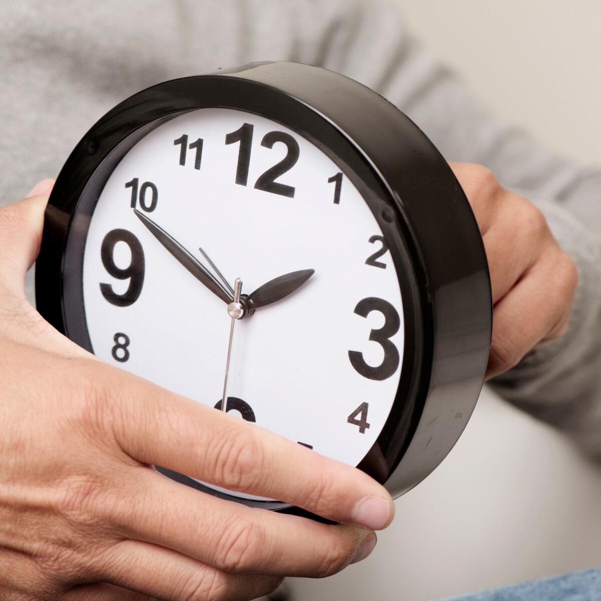 Når Skal Klokken Stilles 2021
