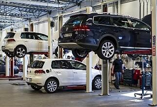 Trygt å ha bilen på verksted?