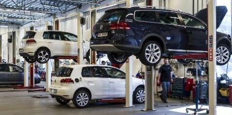 image: Trygt å ha bilen på verksted?