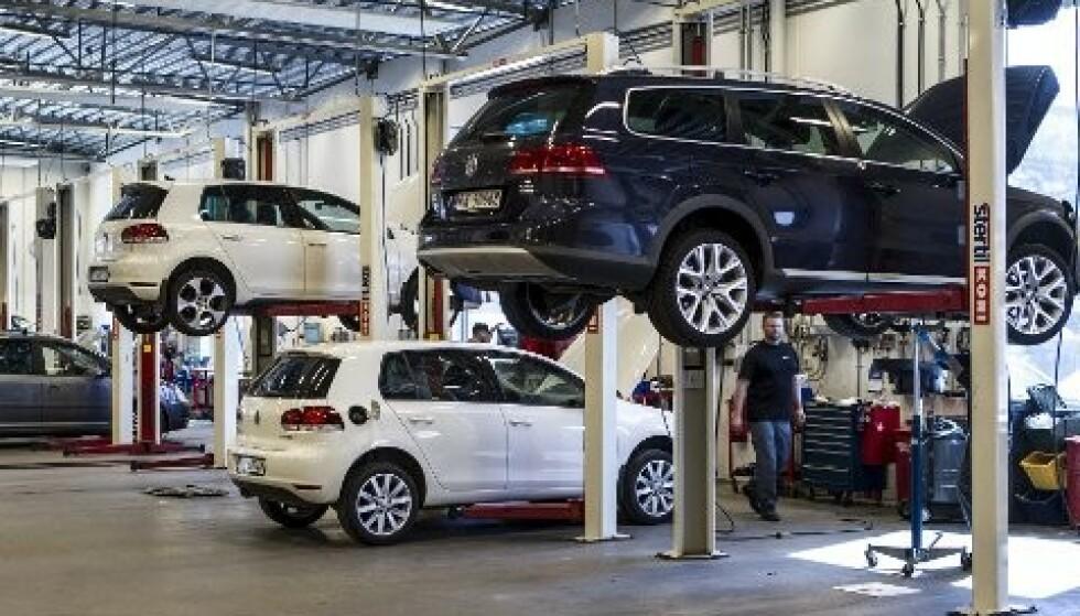 <strong>GJORT TILTAK:</strong> Møller Molility Group med merkene Audi, Seat, Skoda og VW er en av importørene som aktivt har gått ut med Corona-tiltak på sine hjemmesider. Foto: VW.