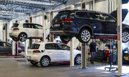 image: Trygt med bil på verksted?