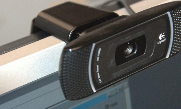 VIDEOMØTER: Interessen for webkameraer har eksplodert igjen, blant annet takket være alle som er låst til hjemmekontor. Foto: Brynjulf Blix