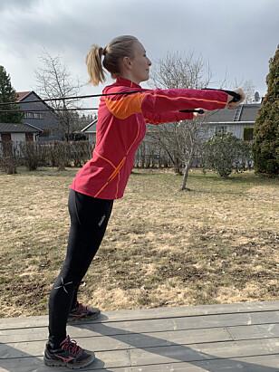 Hjemmetrening: Slik trener du med strikk