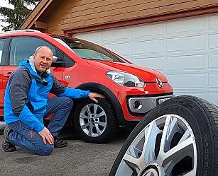 image: Slik skifter du hjulene selv