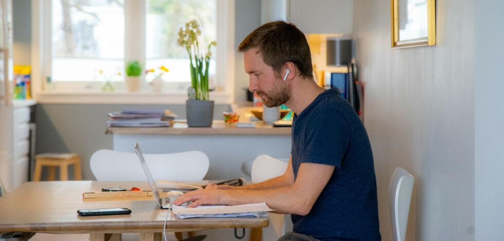 image: Slik sørger du for godt inneklima på hjemmekontoret