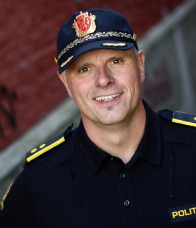 Rune Fimreite, fagleder i Politiets Nettpatrulje Vest. Foto: Politiet