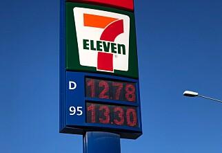 Drivstoff til under 13 kroner per liter