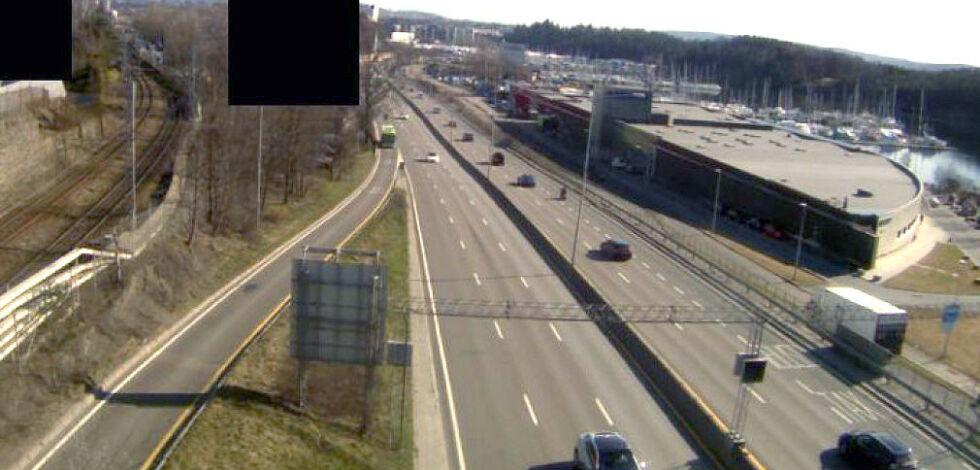 image: Lite trafikk, men høyere forurensning