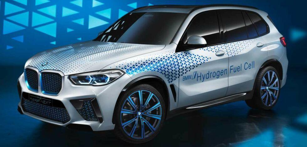image: BMW med Hydrogen i 2022