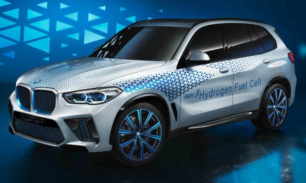 FULL SKALA: BMW er klare på at brenselceller er veien å gå for de store modellene og vil gjerne bygge X5 Next i løpet av neste 10 år dersom infrastrukturen ligger til rette for det. Foto: BMW