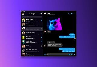 Nå kan du laste ned den nye Messenger-appen til PC