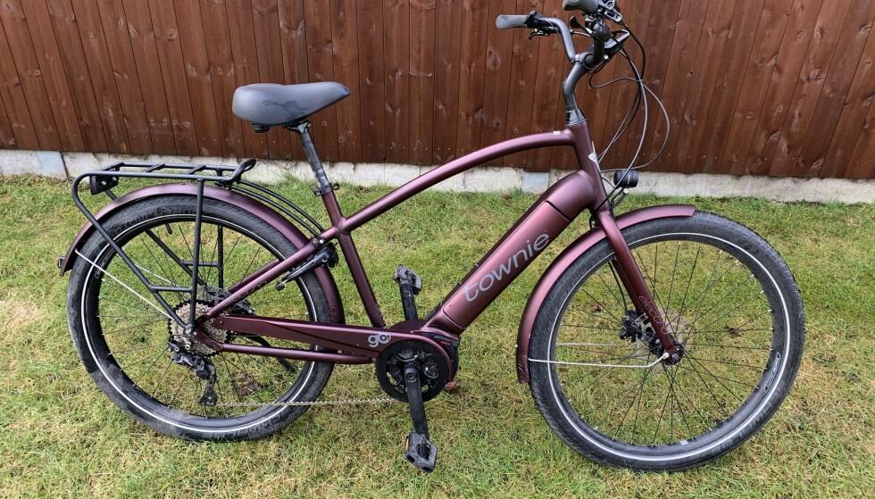 Townie-sykkelen gir en oppreist og god sittestilling. Foto: Martin Kynningsrud Størbu