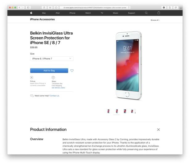 Apple lekket ny iPhone
