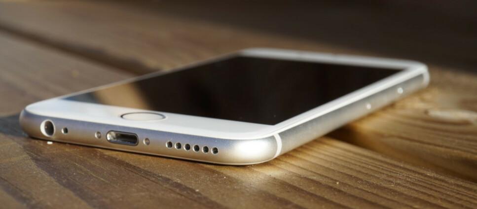 VENDER TILBAKE: Mye tyder på at Apples neste iPhone vil se ut som iPhone 6-serien med hjemknapp. Foto: Pål Joakim Pollen