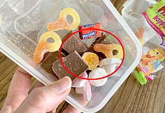 Slik bør du oppbevare godteriet