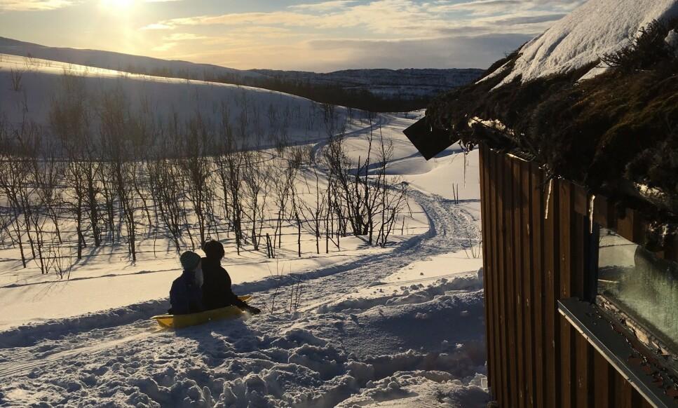 HYTTEFORBUDET: KS ber om at hytteforbudet mykes opp. Foto: Berit B. Njarga