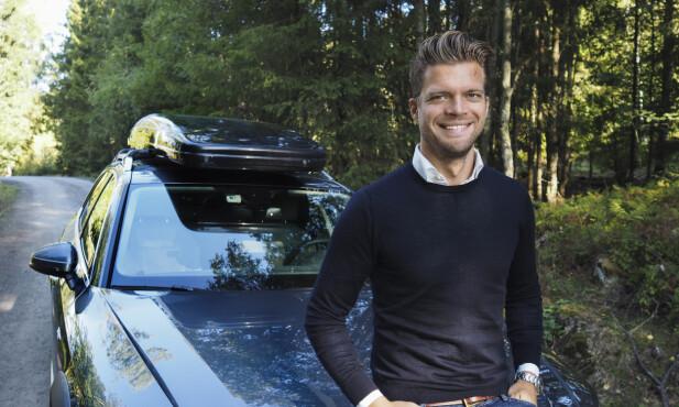 NYE FERIEVANER: Magnus Frøshaug Ryhjell, forretningsutvikler på FINN motor, ser at nordmenn søker på helt andre ferier nå enn tidligere.  Foto: Caroline Roka